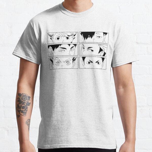 Haikyuu Captains Classic T-Shirt RB0608 product Offical Haikyuu Merch