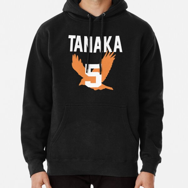 Haikyuu!! Jersey Tanaka Number 5 (Karasuno) Pullover Hoodie RB0608 product Offical Haikyuu Merch