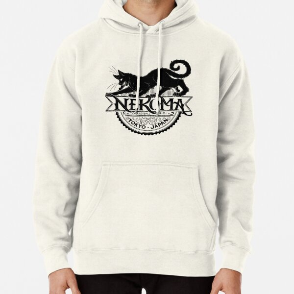 Haikyuu Team Types: Moulin Rogue Nekoma RED Pullover Hoodie RB0608 product Offical Haikyuu Merch
